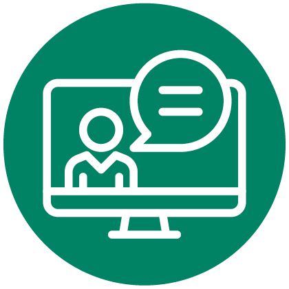 Online courses icon