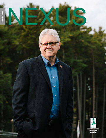 NEXUS Winter 2019 cover with Tim Nelson