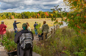Freshwater Studies class gathers at Boardman River