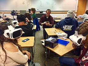 Virtual Reality classroom with Jim Bensley