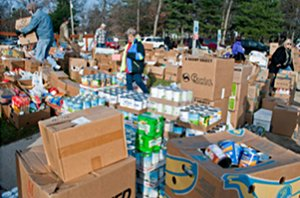 Food for Thought food drive