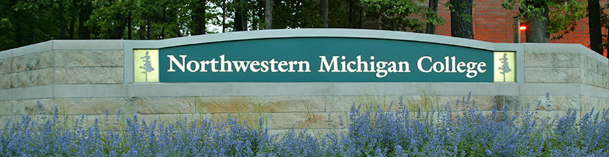 Photo of the entrance sign to NMC's main campus