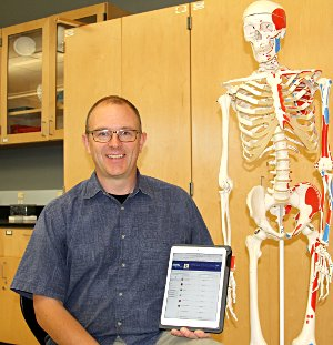 Nick Roster, NMC anatomy and physiology instructor