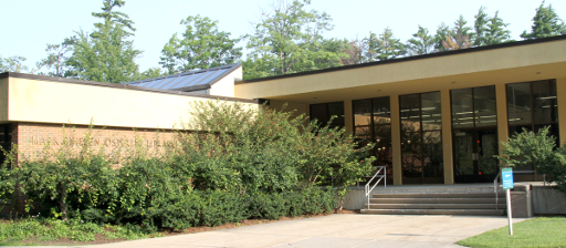 Exterior view of Osterlin Building at NMC