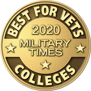 2020 Military Times Best for Vets logo