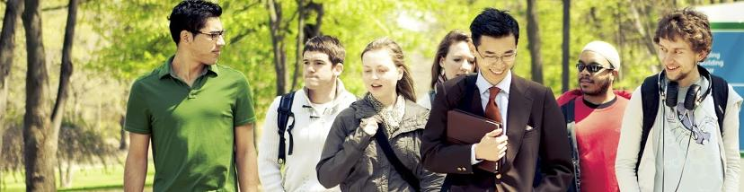 NMC students on campus