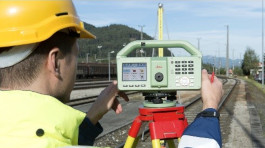 Surveyor and surveying equipment photo