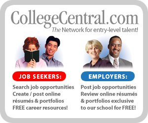 College Central job board image